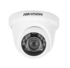 Hikvision DS-2CE5AC0T-IRPF 1MP (720P) Turbo HD Plastic Body Dome Camera 1Pcs.