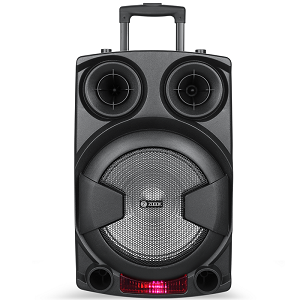 Zoook Rocker Thunder XXL 70 watts Trolley Karaoke Bluetooth Party Speaker with Remote Built-in Active Amplifier and Wireless Mic